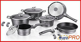 Набір посуду Royalty Line RL ES-1014M silver DETEE