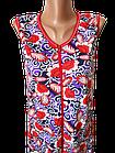 Халати жіночі на блискавці бавовна Україна. Розміри 52,54,56,58,60,62. Від 6шт за 109грн, фото 4