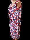 Халати жіночі на блискавці бавовна Україна. Розміри 52,54,56,58,60,62. Від 6шт за 109грн, фото 6