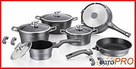 Набір посуду Royalty Line RL ES-2014M silver