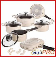 Набір посуду Royalty Line RL ES-1015M cream