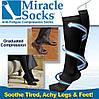 Компрессионные носки Miracle Socks, антиварикозные гольфы Мирекл Сокс