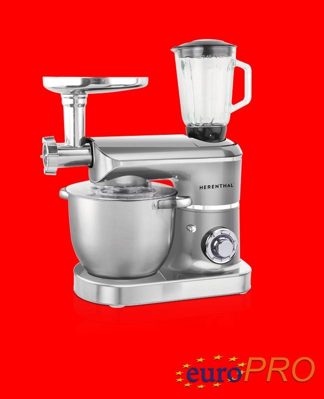 Кухонный комбайн 3в1 Herenthal HT-PKM2200.472.11BG silver