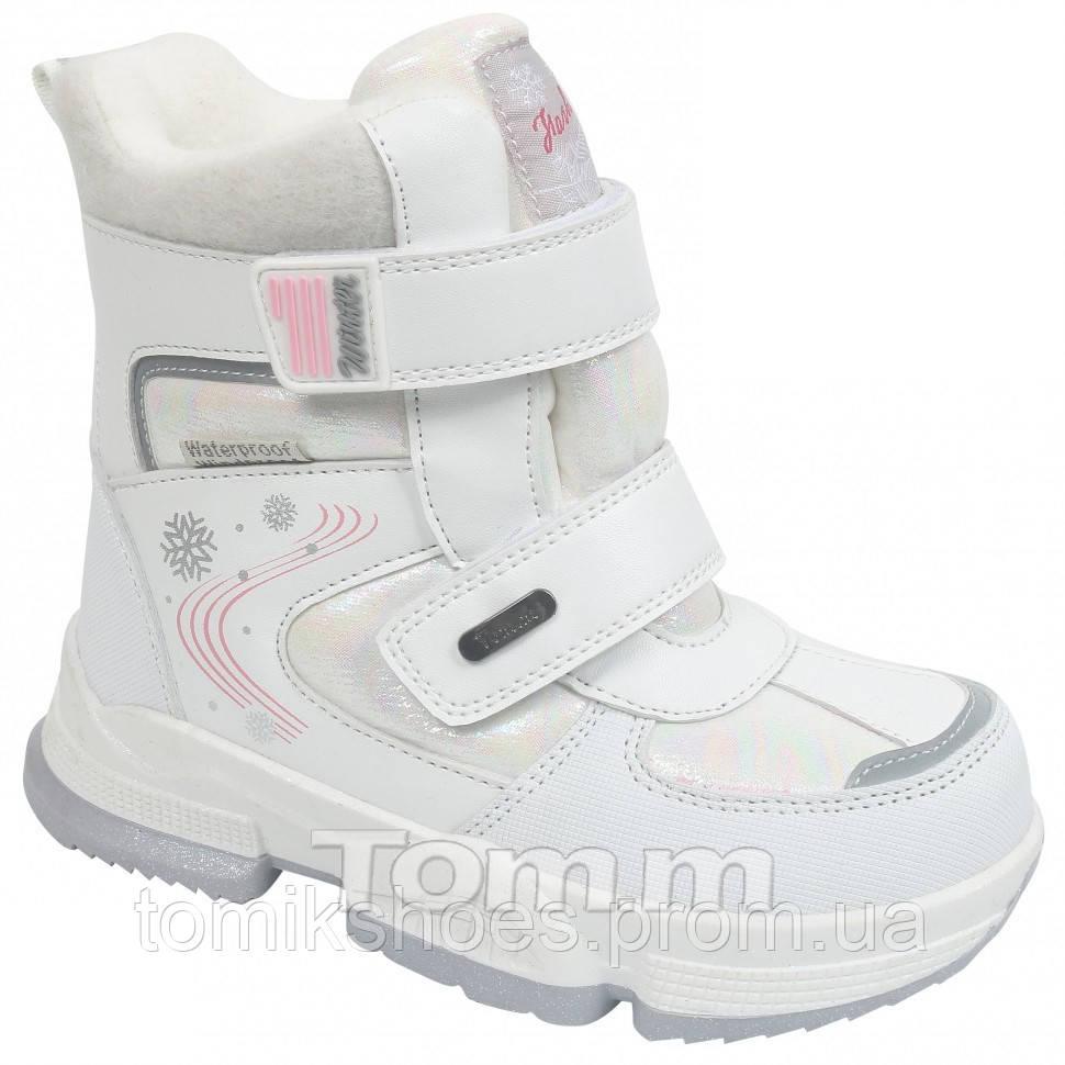 Зимові чобітки  для дівчинки Tom.m 9381F, 23-28 розмір. Новинка 2021 року.