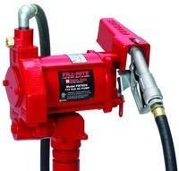 Насос для перекачки заправки бензина и солярки 220В, 75 л/мин