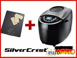 Хлібопічка SilverCrest SBB 850 C1 + Ваги кухонні Silver Crest