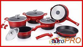 Набір посуду Royalty Line RL ES-2014M red