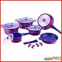 Набір посуду Royalty Line RL ES-1014M purple