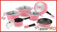 Набір посуду Royalty Line RL ES-1014M pink, фото 1