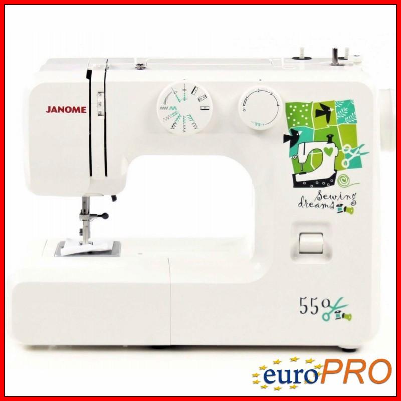 Швейная машина JANOME Dream550