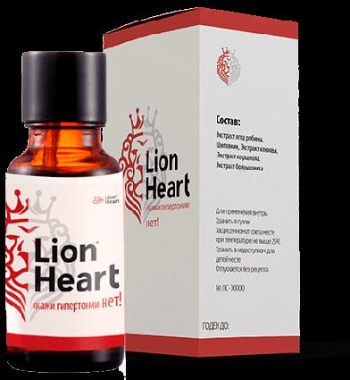Краплі Lion Heart від гіпертонії ViPpils