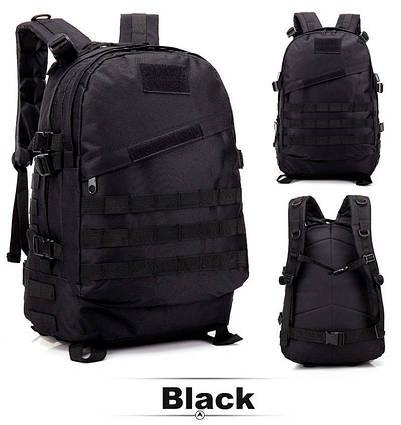 Тактичний похідний рюкзак Military 30 L Чорний мілітарі / T402 ViPvse