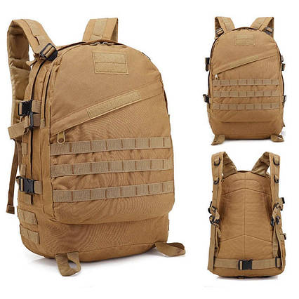 Тактичний похідний рюкзак Military 30 L Койот мілітарі / T420 ViPvse