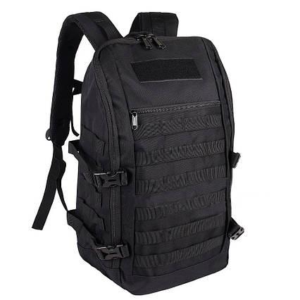 Чорний Тактичний похідний рюкзак Military 20 L мілітарі армійський / T0453 ViPvse