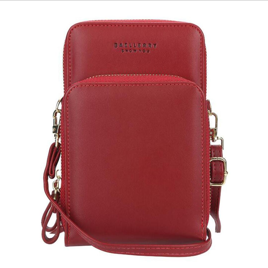 Жіночий гаманець-клатч сумочка Baellerry Show You Червоний ViPvse