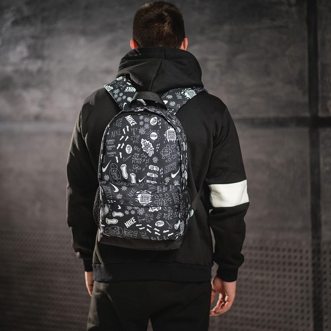 Новинка! Рюкзак с принтом Nike найк Для путешествий тренировок учебы ViPvse