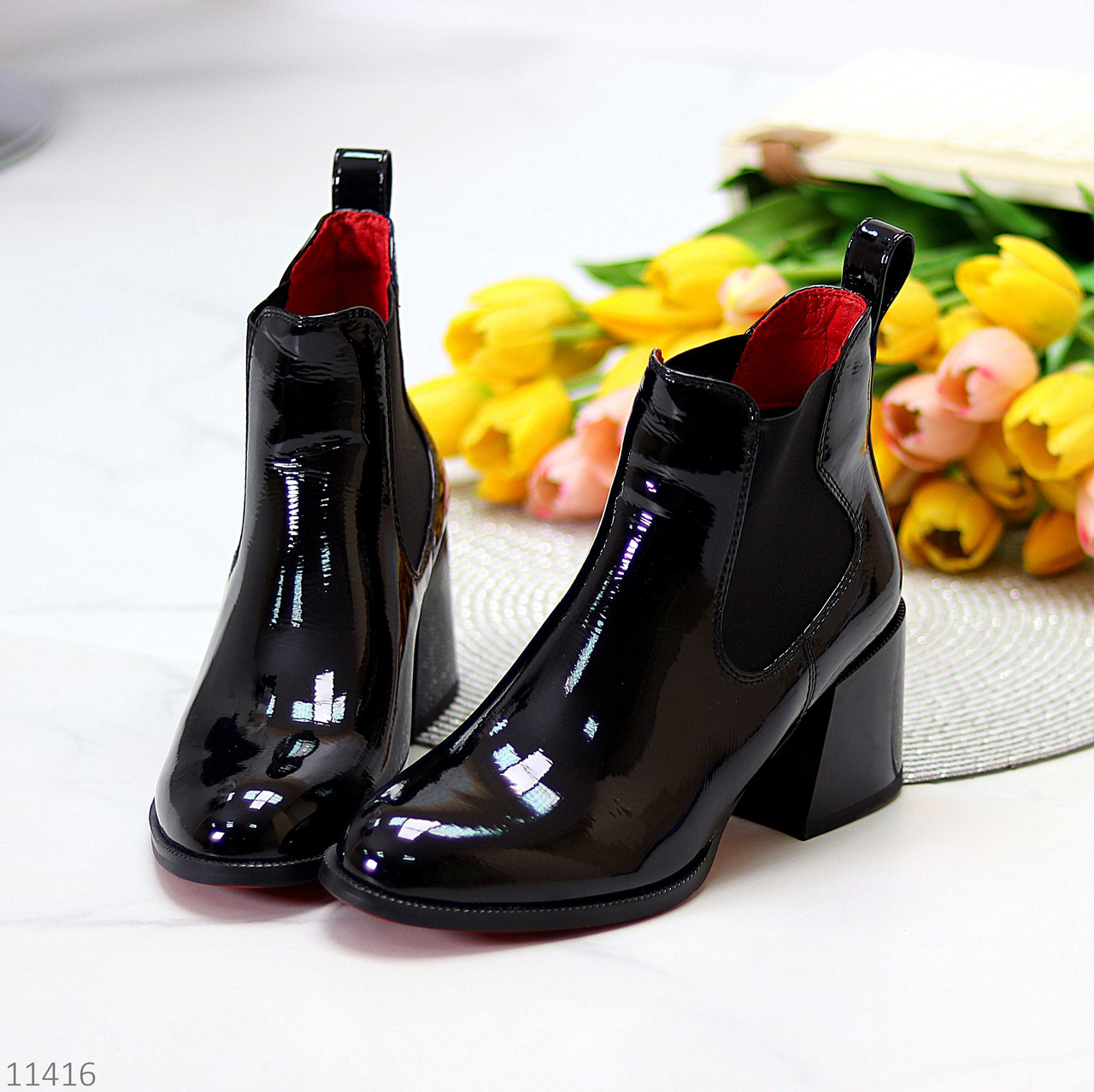 Ботинки, Ботильоны на каблуке