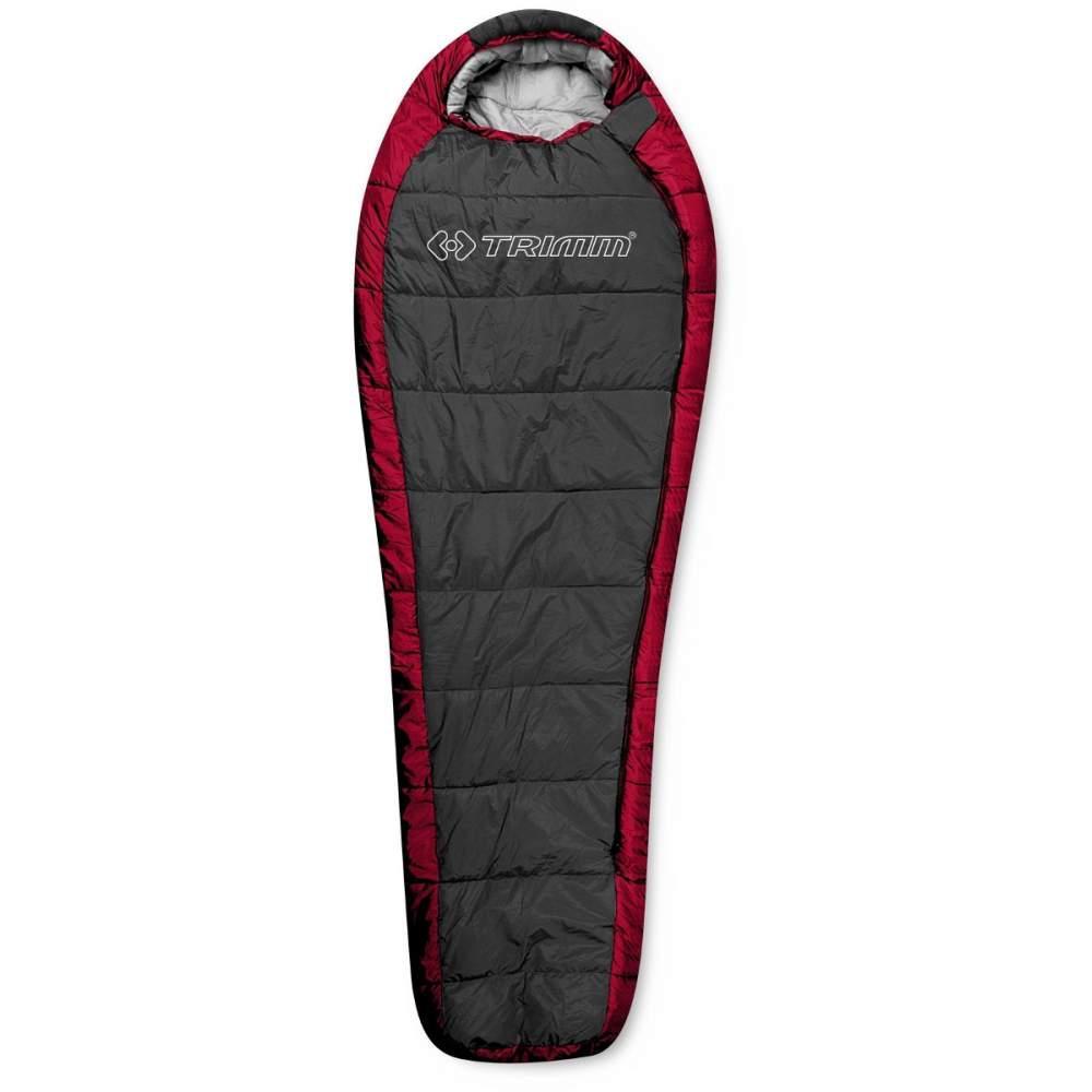 Спальный мешок Trimm Highlander 185 R Серый с красным