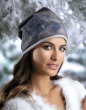 Женская  модная молодежная шапка Aldona,  Willi.