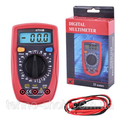 Тестер цифровой DT-33B мультиметр