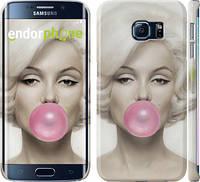 "Чехол на Samsung Galaxy S6 Edge G925F Мэрлин Монро ""1833c-83"""