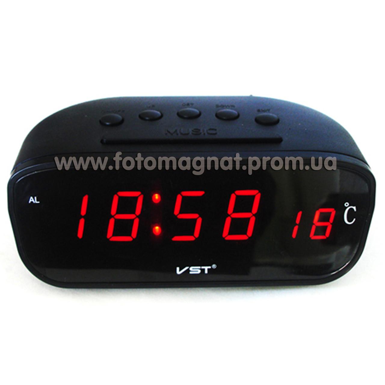 Авточасы 803C-1 красные(часы автомобиль) - Fotomagnat.net — Выгодные покупки начинаются здесь в Днепре