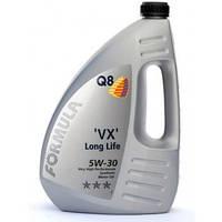 Масло моторное 5w30 ( 4л ) синтетика (Q8 Formula VX Long Life) (ACEA: A3,B4,C2,C3)