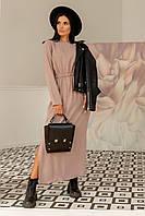 Невероятно лаконичное платье Аделия свободного силуэта макси длины 42-56 размер разные цвета