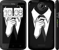 "Чехол на HTC One X Галстук ""2975c-42"""