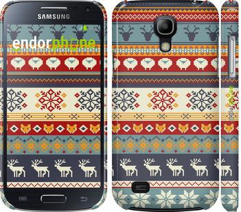"""Чехол на Samsung Galaxy S4 mini Duos GT i9192 Рождественский орнамент """"3303c-63"""" - я24.com - Всё здесь! Всё есть! в Киеве"""