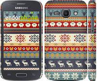 """Чехол на Samsung Galaxy Ace 3 Duos s7272 Рождественский орнамент """"3303c-33"""""""