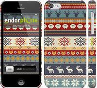 "Чехол на iPhone 5c Рождественский орнамент ""3303c-23"""