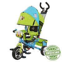 Велосипед детский трехколесный, колеса пена, Лунтик, LT 0066-01