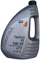 Масло моторное 5w30 ( 4л ) синтинтетика (Q8 Formula Techno) (API: SL) (ACEA:A1/B1/A5)