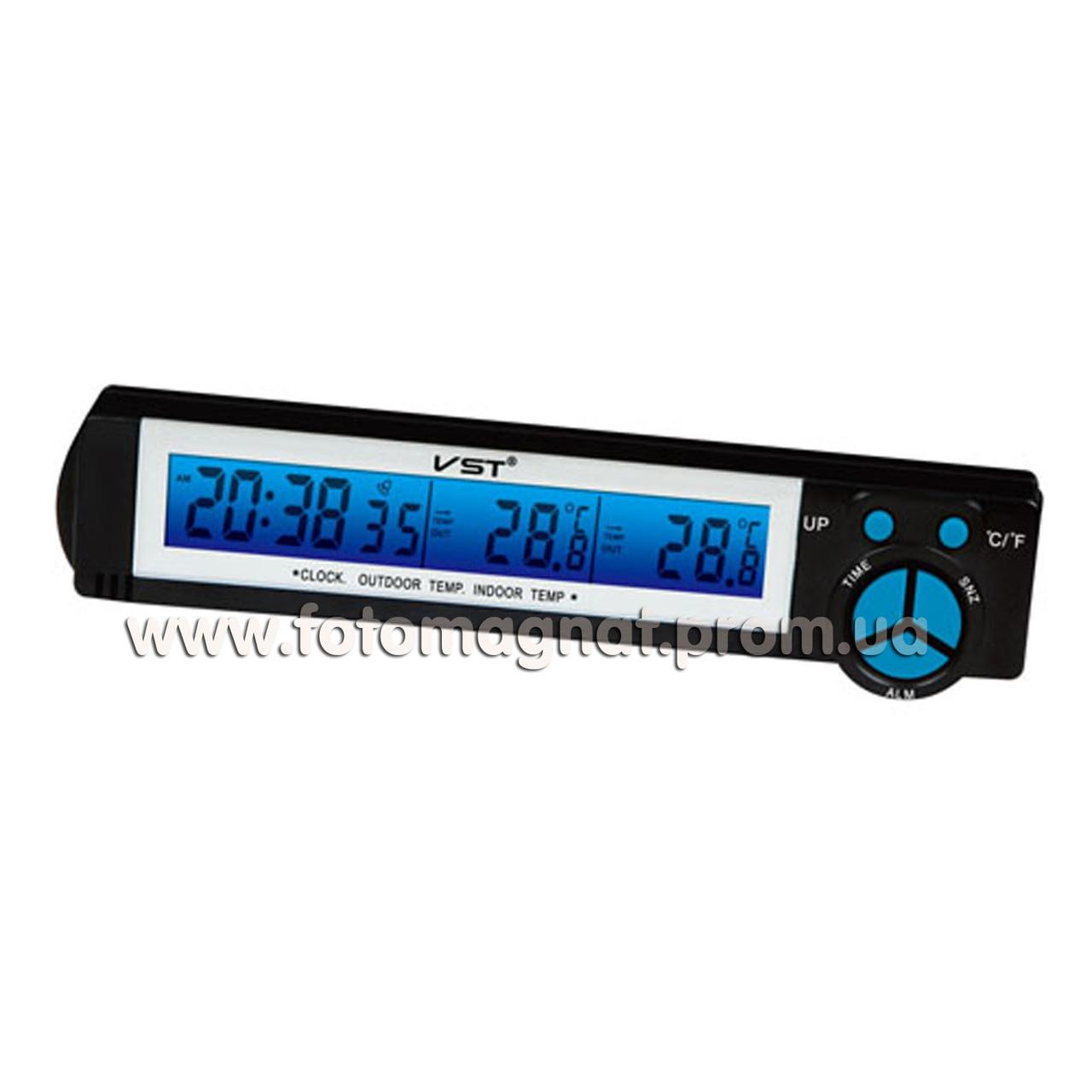 Авточасы VST 7043(часы автомобиль)