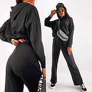 Стильний спортивний жіночий костюм двійка, фото 2