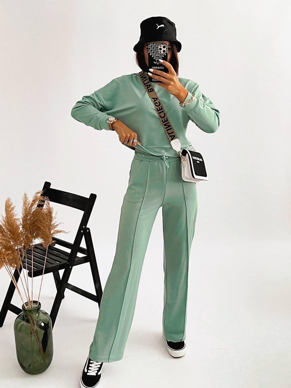 Повсякденний жіночий костюм двійка (худі і штани)