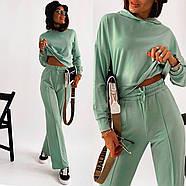 Повсякденний жіночий костюм двійка (худі і штани), фото 2