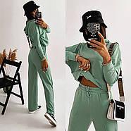 Повсякденний жіночий костюм двійка (худі і штани), фото 3