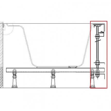 Крепление фронтальное для ванны Ravak U(Универсальное), фото 2