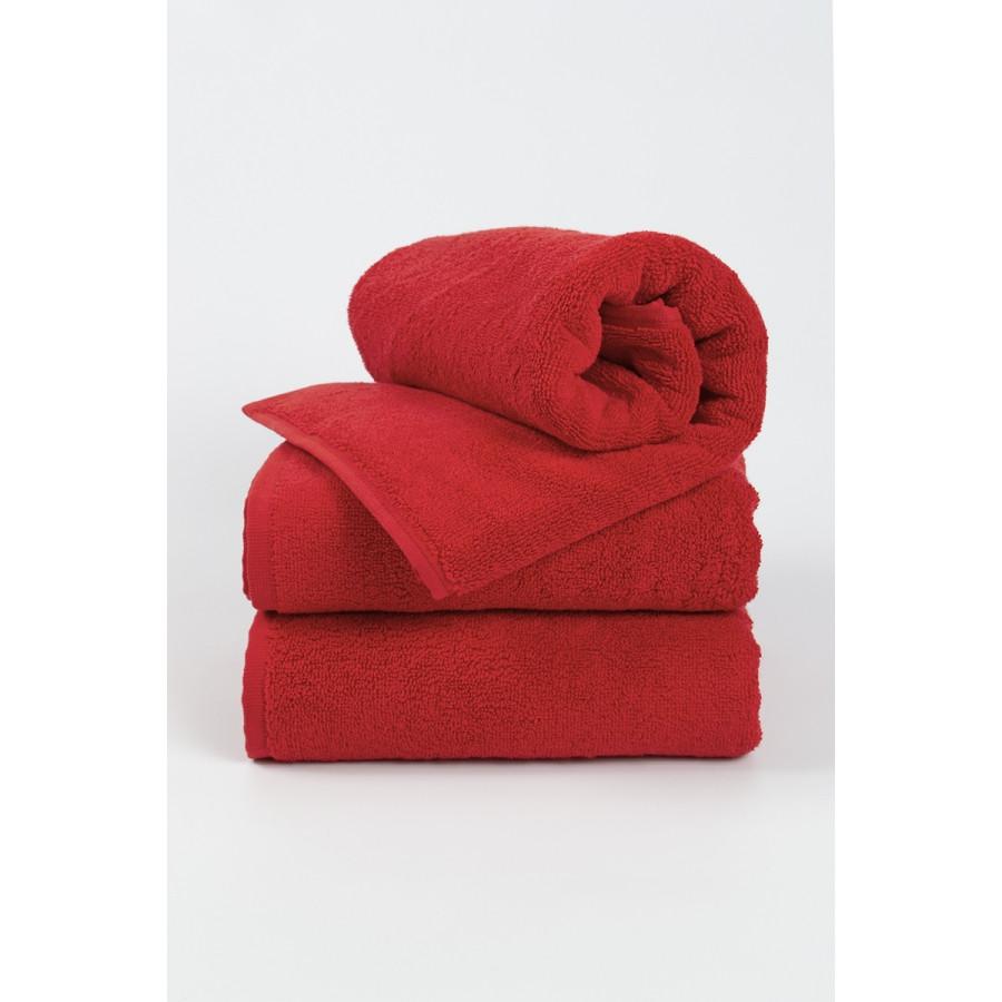 Полотенце махровое Яр-400 Ярослав  50х90 см Красный