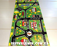 Детская ковровая дорожка Rainbow Код: 3272 GREEN