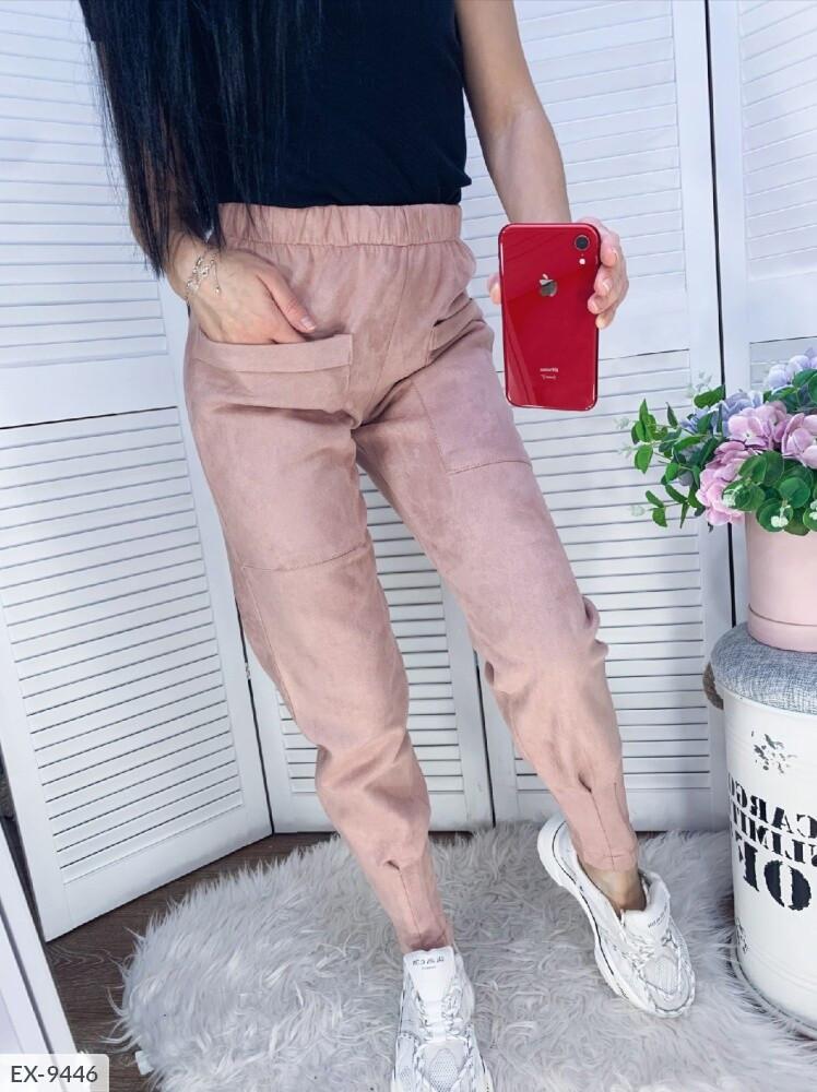 Женские штаны замш на дайвинге
