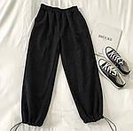 Женские вельветовые штаны на затяжках, фото 3