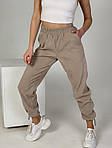 Женские вельветовые штаны на затяжках, фото 4