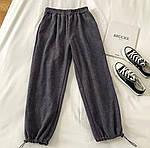 Женские вельветовые штаны на затяжках, фото 8