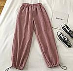 Женские вельветовые штаны на затяжках, фото 10