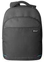 """Городской функциональный рюкзак для ноутбука 15-16"""" X-DIGITAL AREZZO 316 BLACK, 6253602"""