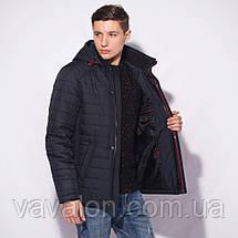 Демисезонная мужская куртка  с капюшоном, фото 3