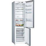Холодильник з морозильною камерою Bosch KGN39VLDA, фото 2